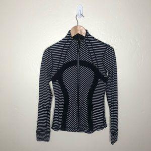 Rare Lululemon parallel stripe define jacket